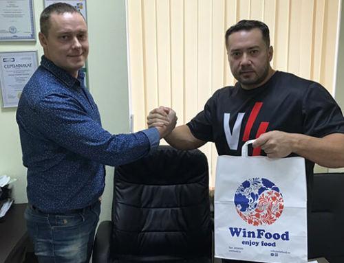 Компания WinFood и Сергей Югай подписали годовой рекламный контракт