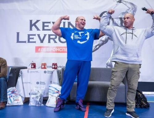 Кевин Леврон в СПб